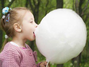 Zucchero filato per tutti i bambini